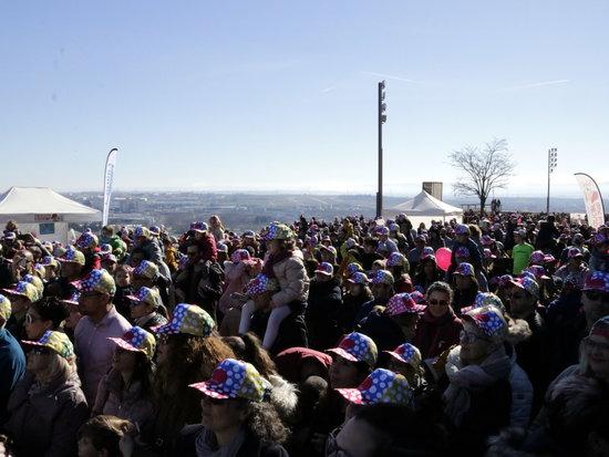 Imatge general del públic que ha assistit aquest diumenge a la 6a Festa  Posa t  la Gorra  de l AFANOC a Lleida. El 17 de febrer de 2019. (Horitzontal) 068ff672dd8