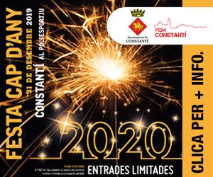 Aj. Constantí  Cap d'Any – 300×250
