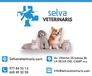 Veterinaris La Selva – 2021 · 300×250