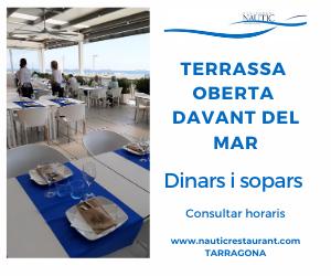 Terrassa oberta – Nàutic Tarragona