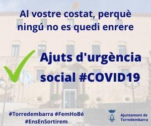 Ajuntament Torredembarra – Ajuts Urgència Social – Agost 2020
