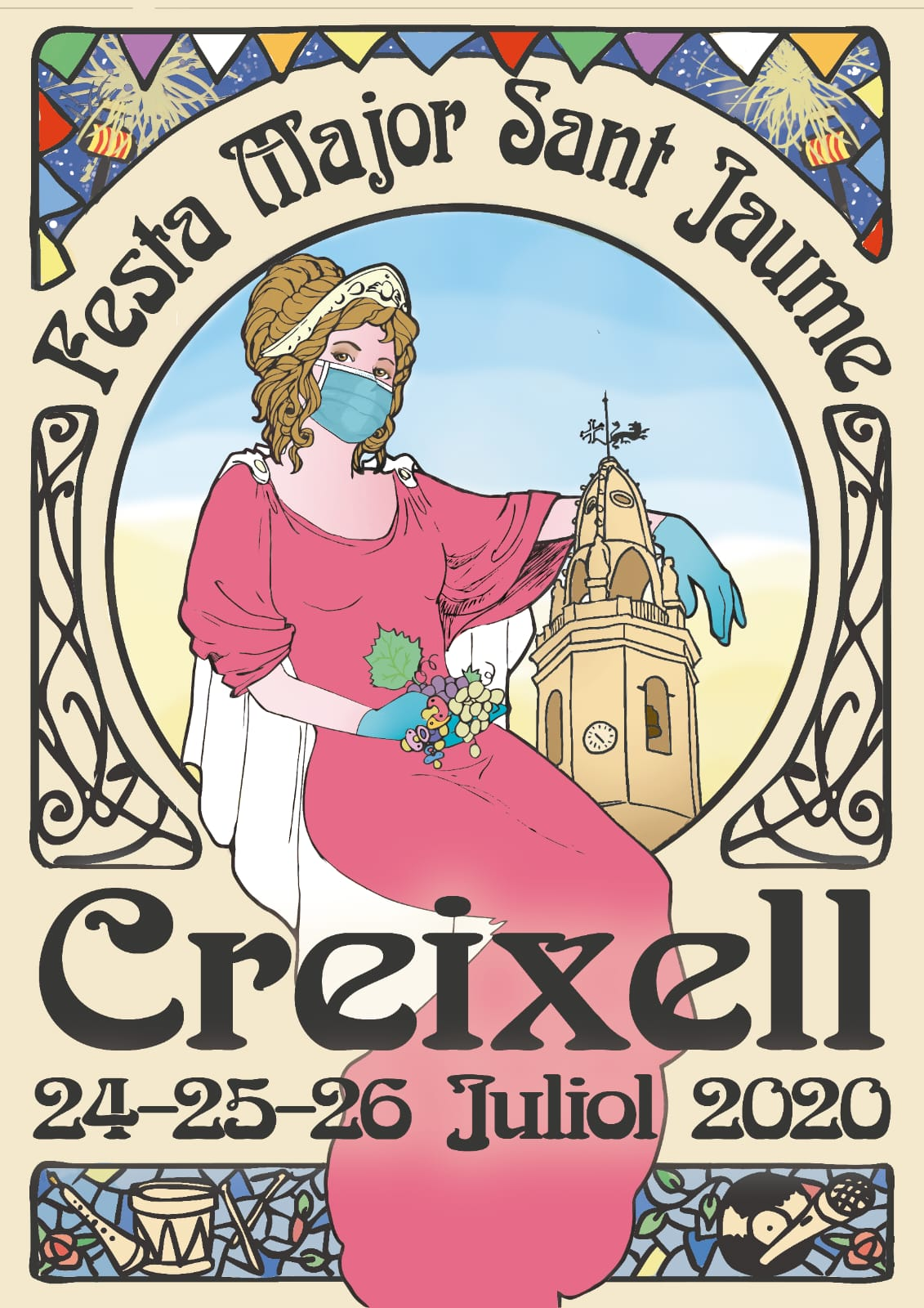 Creixell- Festa Major Sant Jaume 2020 – 300×600