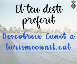 Turisme Cunit – Juliol 2020