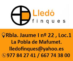 Finques Lledó – Agost 2020