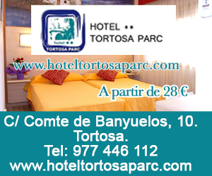 Hotel Tortosa Parc – Juliol 2020 · 300×250
