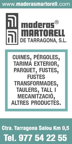 Maderas Martorell – Agost 2020 – Tarragonès