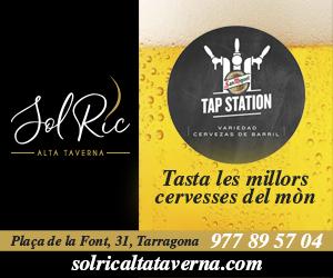 Sol Ric – Setembre 2020 – Sol Ric Alta Taverna