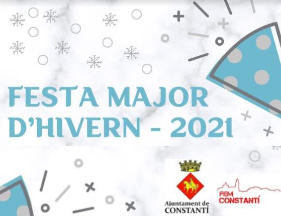 Festa Major d'Hivern 2021 – Ajuntament de Constantí