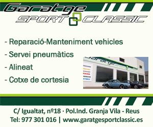 Garatge Sport Classic – Abril 2021