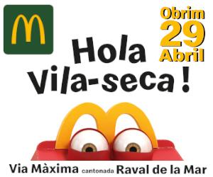 Obertura Vila-seca – McDonald's Vila-seca – 300×250