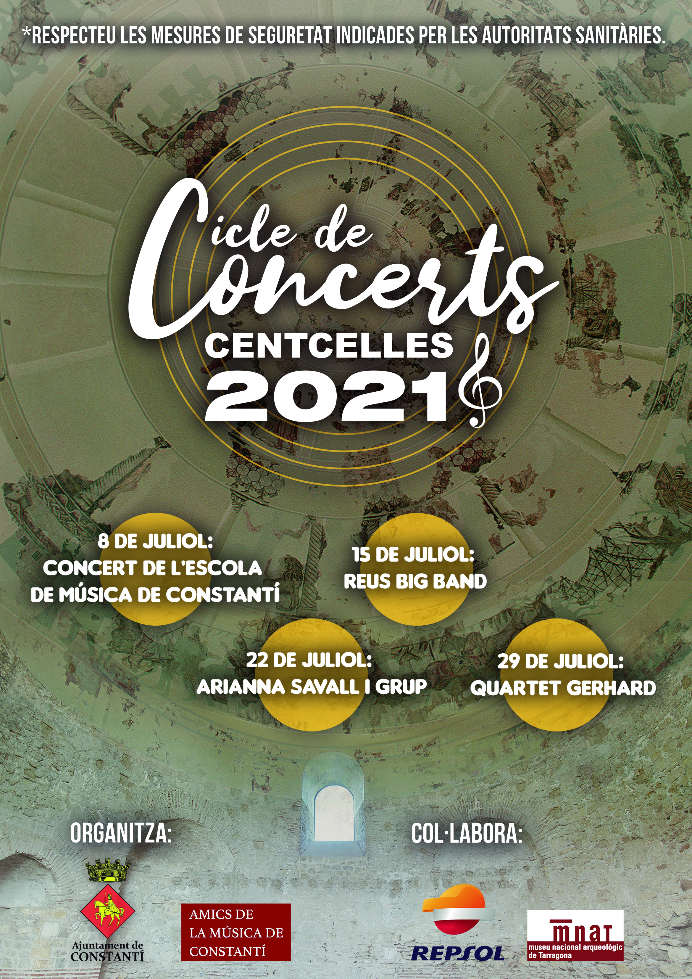 Cicle de Concerts Centcelles 2021 – Ajuntament de Constantí