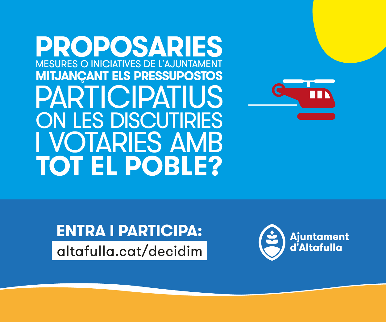 'Altafulla Decidim' – Ajuntament d'Altafulla