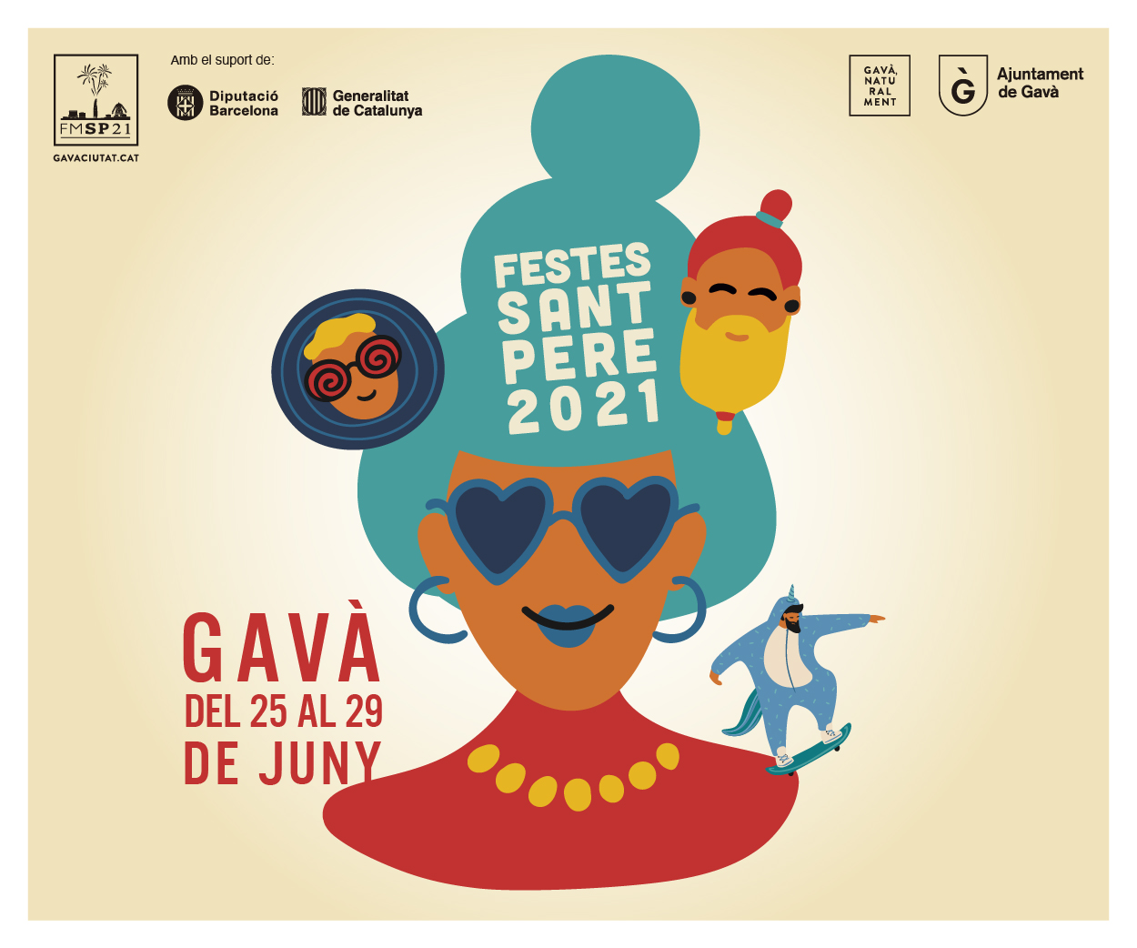 Ajuntament de Gavà – Festa Major 2021 – Lateral