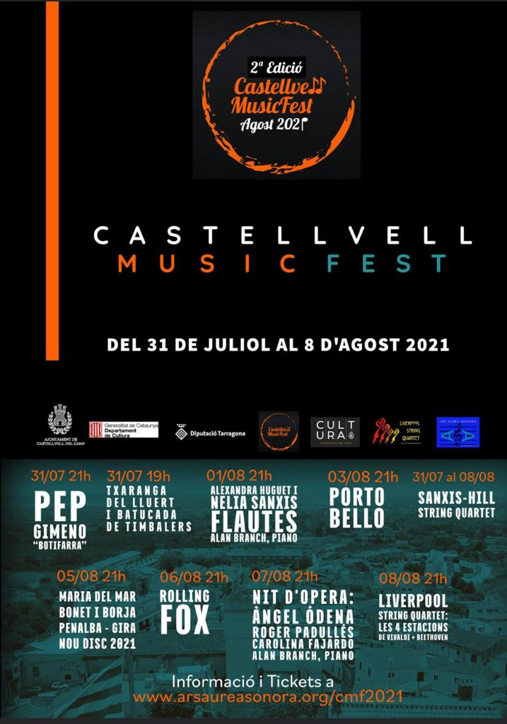 Castellvell Music Fest – Castellvell del Camp