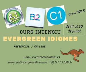 Evergreen Idiomes – Juny 2021