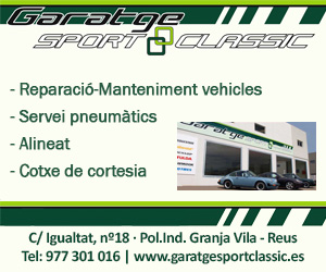 Garatge Sport Classic – Agost 2021
