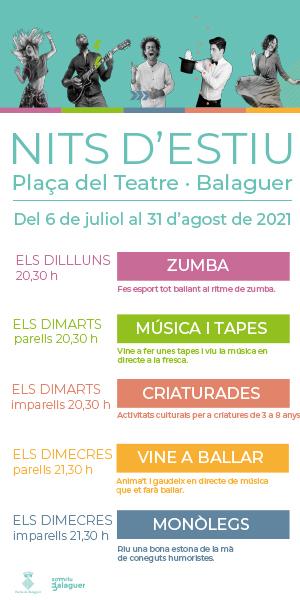 Nits d'Estiu 2021 – Ajuntament Balaguer
