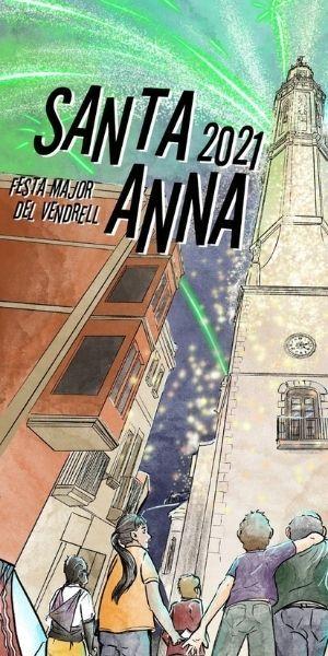 Festa Major 2021 – Ajuntament del Vendrell – Lateral