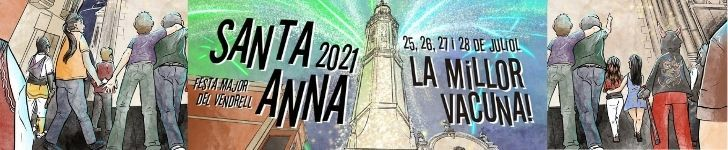 Festa Major 2021 – Ajuntament del Vendrell – Capçalera