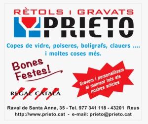 Rètols i gravats Prieto – Misericòrdia 2021