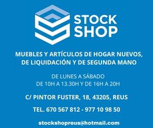 Stock Shop Reus – Misericòrdia 2021