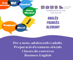 Babel Language School – Misericòrdia 2021