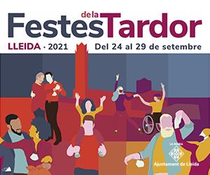 Festes de la Tardor 2021 – Ajuntament de Lleida – Lateral