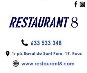 Tipsa – Restaurant 8 – Octubre 2021